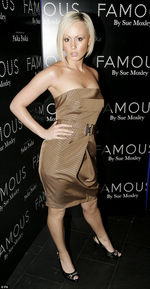 'I bend over to dry my legs after a shower and my belly is touching my knees!' the star admitted (pictured in 2007)