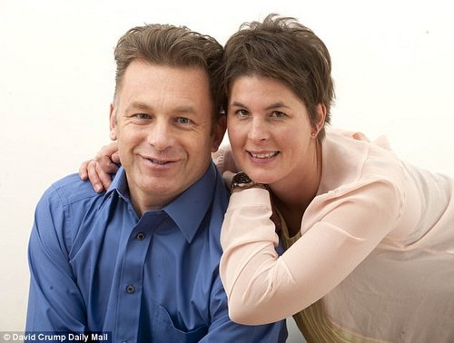 Mr Packham and his partner zoo owner Charlotte Corney. She says 'His truthfulness sometimes hurt me, but it's part of the Asperger's