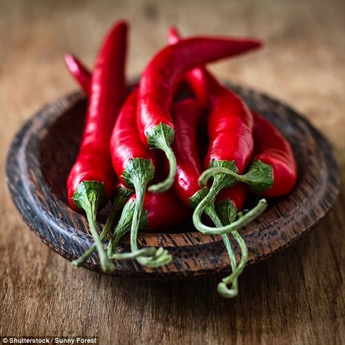 Increasing capsaicin – as found in chili peppers – may stimulate thermogenesis in the body