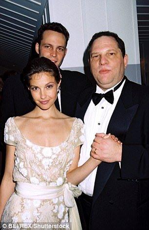 Harvey Weinstein and Ashley Judd