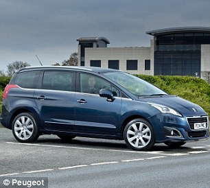 The previous generation Peugeot 5008 MPV has the worst pass rate of any car sitting its first test