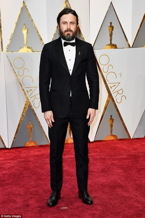 Filmmaker Casey Affleck was accused of sexual harassment in 2010 by two women who worked on his film I'm Still Here. The claims were settled out of court and he would go on to win an Oscar for best actor in 2017 (pictured)