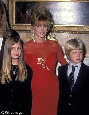 Ivana writes that she 'never believed the accusations that he molested' children, maintaining that Jackson was 'asexual'
