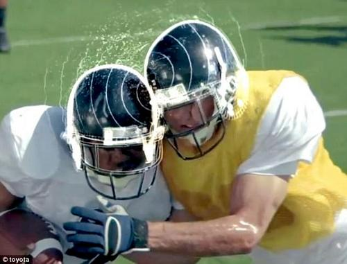 A study using helmets equipped with censors revealed that 75 percent of impacts to the head happen during practice
