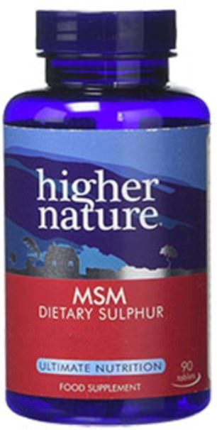 Methylsulfonylmethane is a natural source of sulfur and often regarded as a miracle