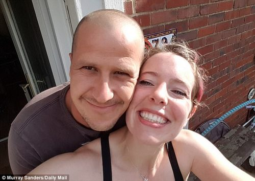 May Hart (pictured right with her husband) says she suffered from migraines, weight gain and bleeding whilst using some methods of contraception