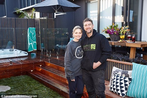 'We'd live off lollies and coffee!' The Block's Hannah Amos has revealed she and her husband Clint had were living off an unhealthy diet and irregular meals during filming