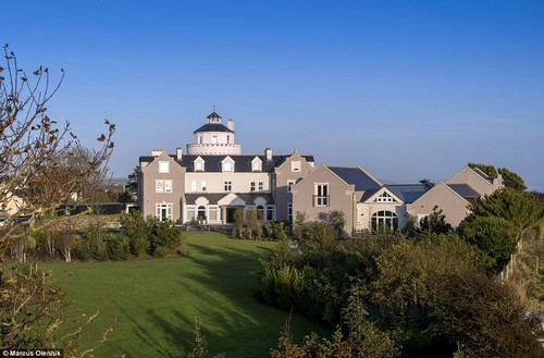 Rural attraction: Hotel of the Year Wales was won by Twr Y Felin Hotel, St Davids, for its 'excellent design and presentation'