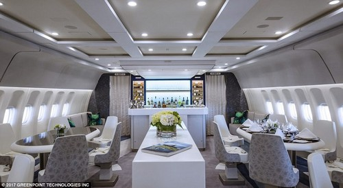 Passengers on Crystal Skye can eat, drink, socialise and relax, enjoying VIP service for the duration of their flight