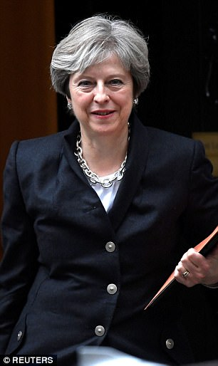 Theresa May faced a backlash last night after confirming the UK will be subject to European judges¿ rulings during a two-year transition out of the EU