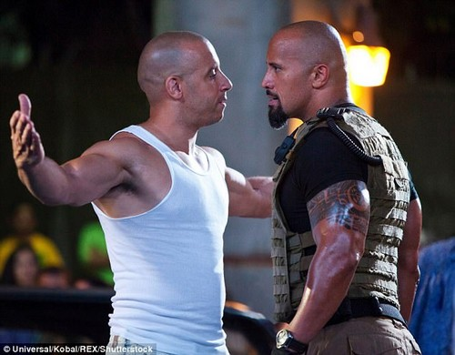 Family feud: The Fast And The Furious series is all about brotherhood... and Vin Diesel has mediated a dispute within his onscreen 'family'