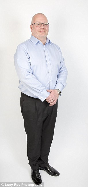 It¿s estimated that 13 out of 100 bowel cancers in the UK are linked to being overweight or obese. It is probably due to inflammation caused by weight gain. Mike Johnson's (pictured, 47) situation is not helped by alcohol