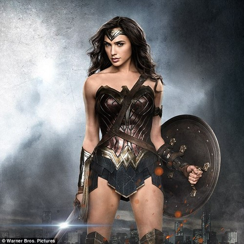 Uncanny resemblance: Alyson looks just like actress Gal Gadot (pictured) from this year's Wonder Woman film