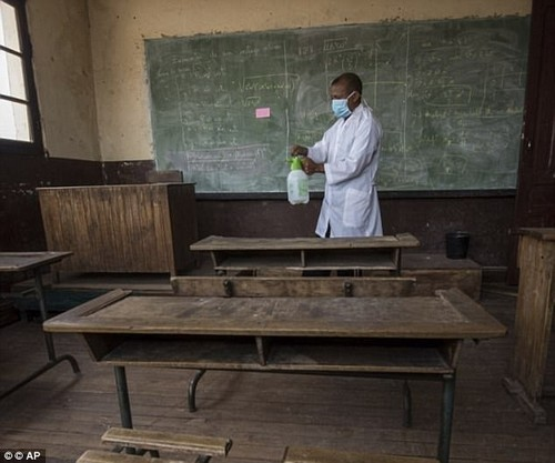Schools and universities have been shut in a desperate attempt to contain the respiratory disease, with children known to come into contact with each other more than adults, and the buildings have been sprayed to eradicate any fleas that may carry the plague