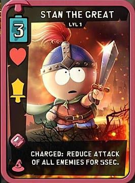 Stan the Great Best Cards Fantasy South Park Phone Destroyer Guide