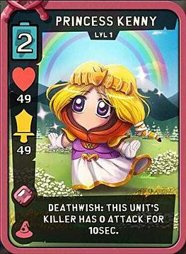Princess Kenny Best Cards Fantasy South Park Phone Destroyer Guide