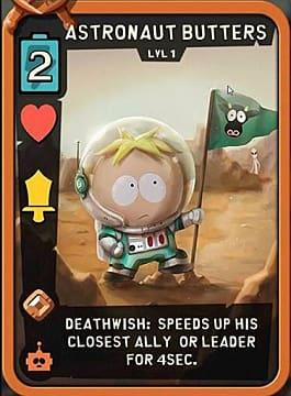 Astronaut Butters Best Cards Sci-Fi South Park Phone Destroyer Guide