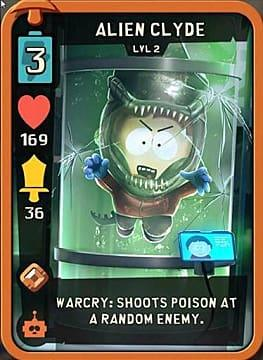 Alien Clyde Best Cards Sci-Fi South Park Phone Destroyer Guide