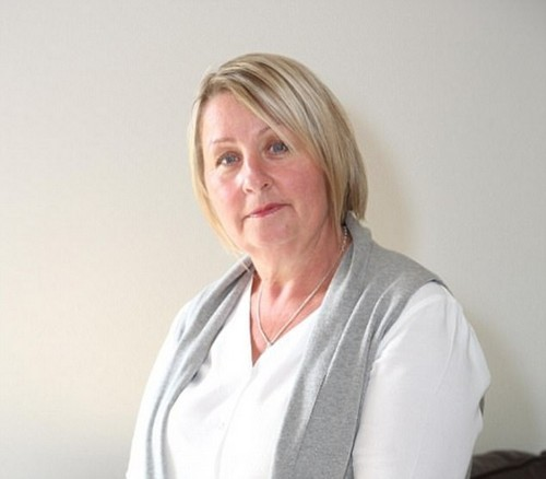 Mother-of-two Denise Davis (pictured), 52, from Gorsley, Herefordshire, says she considered suicide because of the pain after she had the mesh implanted in 2010 for incontinence