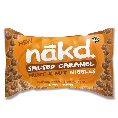 Salted caramel was created in an obscure confectioner's shop in Northern France more than three decades ago, but now it seems to be taking over the Western world. Pictured: Nakd salted caramel fruit and nut nibbles