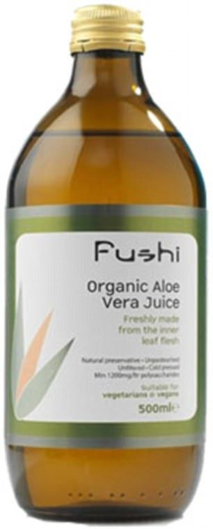 Fushi Wellbeing's Aloe Vera Juice is grown organically in Mexico