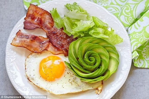 The keto diet even without exercise is healthier for weight control and for diabetics, new research suggests (stock image)