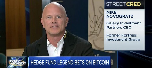 "Michael Novogratz: ""Bitcoin May Dip to $8K"" — Puts Crypto-Hedge Fund on Hiatus"