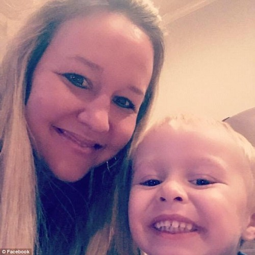 Kristin Freeze, 35, was diagnosed with stage 4 medullary thyroid cancer just weeks after giving birth to her now three-year-old son