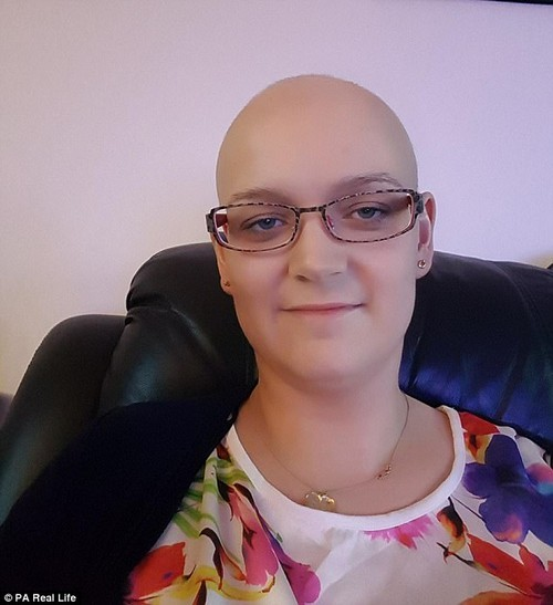 A blood test revealed that she had leukaemia, which needed urgent treatment