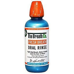 The Breath Company Fresh Breath Oral Rinse, £14: While this mouthwash claims bad breath can be treated by OXYD-8, based on current evidence, the key active ingredients for that chemical are chlorhexidine, cetylpyridinium chloride and zinc, none of which can be found in this mouthwash