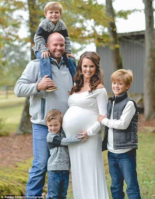 The Waldrop family, from Alabama, welcomed six babies Monday when mother Courtney delivered sextuplets, adding to their family of five