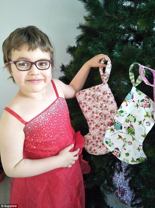 "''She said without hesitation ""I want to make sure everyone has a stocking at Christmas and nobody gets left behind,' Emma said"