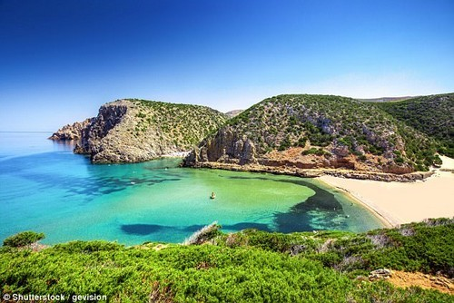 In the region of Barbaglia, located in the Sardinian mountain area, there is the world's largest concentration of centenarians (stock of Sardinia)
