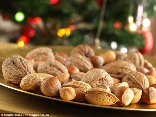 Regular consumption of nuts is known to boost your cardiovascular health (stock image)