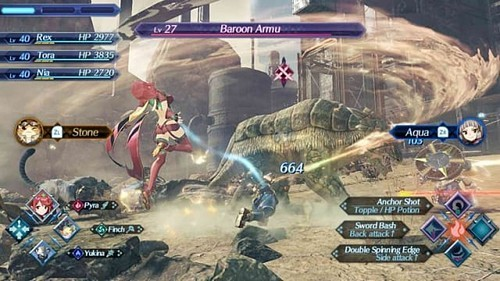 Xenoblade Chronicles 2 Review XC2 Gameplay and Combat