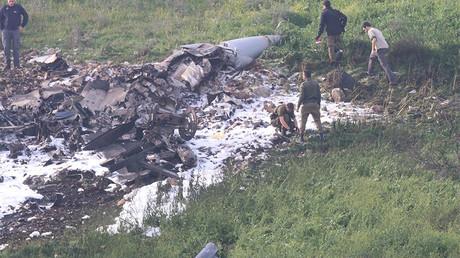 Israeli F-16 fighter jet crashes under Syrian anti-aircraft fire amid IDF cross-border raid