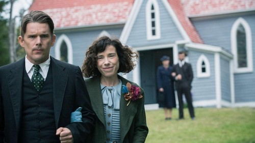 "Ethan Hawke and Sally Hawkins star in ""Maudie."""