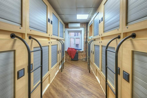 Capsule hotel in loft style. 9.1 - rating on Booking