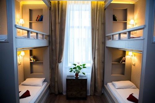 Hostel-mini hotel from a well-known brand. Longevity