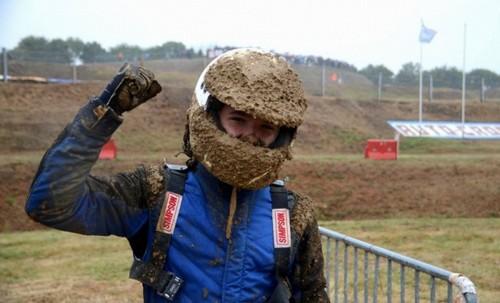 Тимофей Овчаров после гонки в Чехии в 2017 году