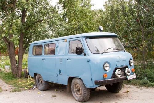 УАЗ 2206 или Буханка.