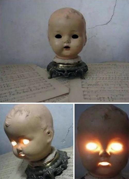 Очаровательный ночник из куколки.