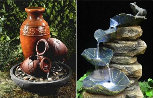 Декоративные водопады, которые помогут создать настоящий водный оазис.
