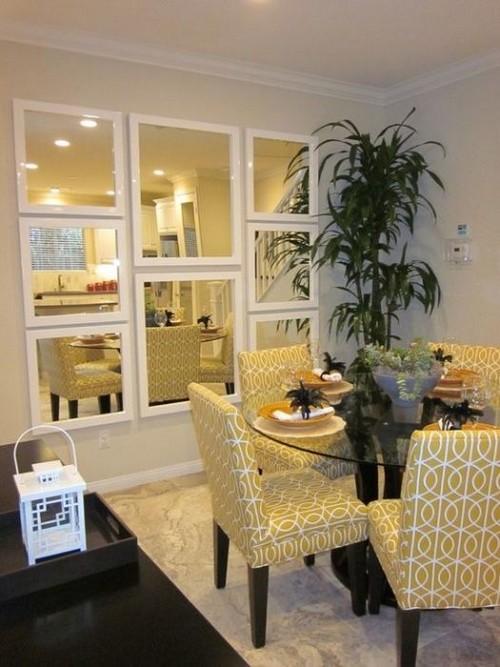 Жёлтая столовая - комната хорошего настроения.