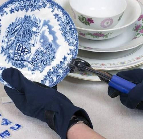 Можно «побить» тарелки, как эксперт.