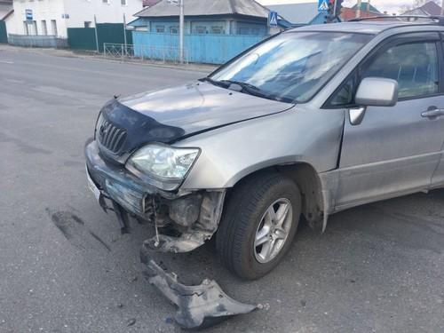 Авария произошла в 16:50 на пересечении улиц Жуковского и Ереванская