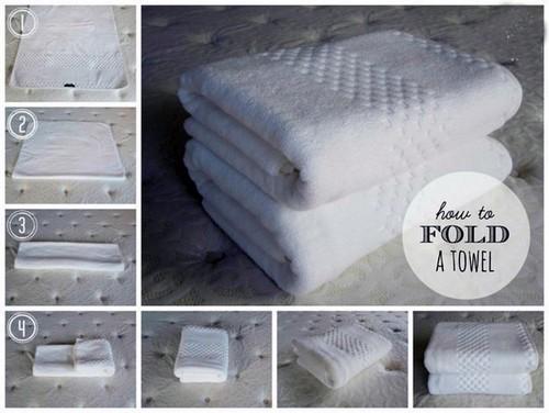 Махровые полотенца.