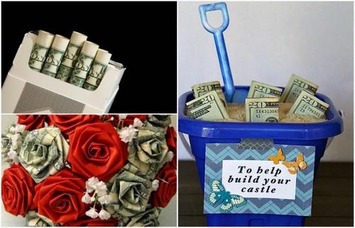 Крутые идеи того, как оригинально упаковать деньги на подарок.