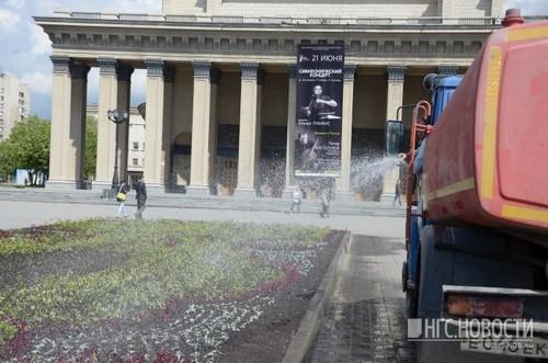 Среднесуточная температура в июне по Новосибирской области ожидается около нормы