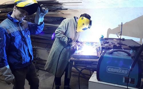 Try your hand at welding in Ivleva's studio.